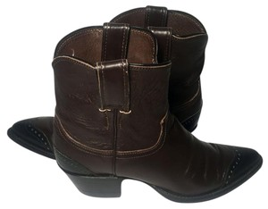 Justin Boots Cowgirl 6.5 Women Women Size 6.5 Brown Boots