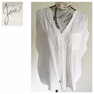 Joie Top Off White