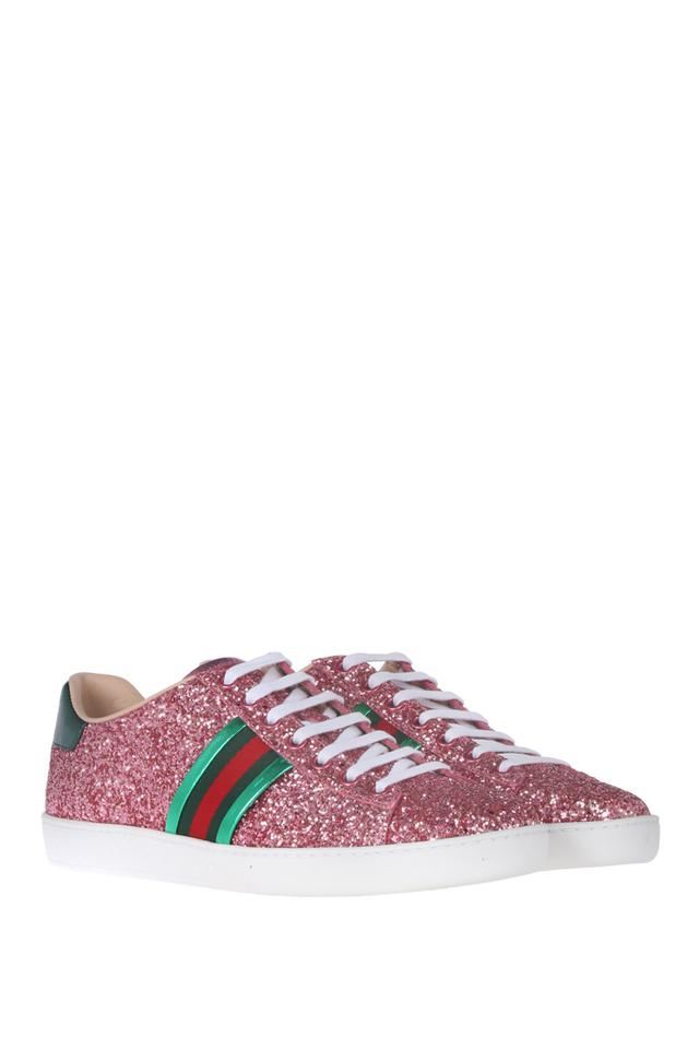 815f1a486b9 Gucci Pink Glitter Ace Sneakers Sneakers Size US 10 Regular (M
