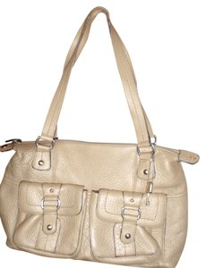 Fossil Tote Handbag Leather Shoulder Bag