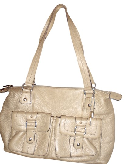 Preload https://img-static.tradesy.com/item/2168189/fossil-purse-yellow-leather-canvas-shoulder-bag-0-0-540-540.jpg