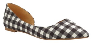 J.Crew Black and white Flats