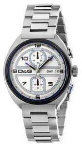 Dolce&Gabbana Dolce & Gabbana Male Dress Watch DW0301 Silver Analog