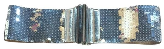 Preload https://item5.tradesy.com/images/silver-stretch-sequined-belt-2168294-0-0.jpg?width=440&height=440