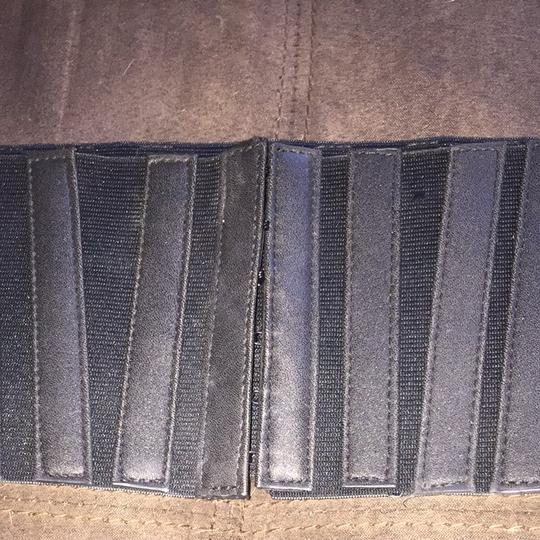 Other Black Stretch And Leather Belt