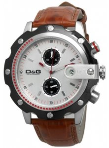 Dolce&Gabbana Dolce & Gabbana Male Dress Watch DW0365 Brown Analog