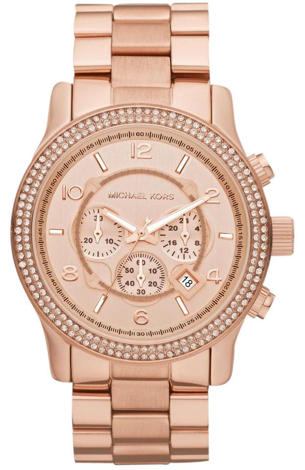 08b5d6d66b73 Michael Kors Michael Kors Ladies Watch Rose Gold MK5576 Image 0 ...