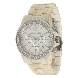 aca5327e550e Michael Kors Michael Kors Women s MK5598 Madison Beige Plastic Quartz Watch