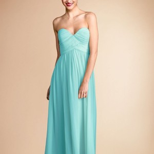 Donna Morgan Spearmint Chiffon Laura Destination Bridesmaid/Mob Dress Size 8 (M)