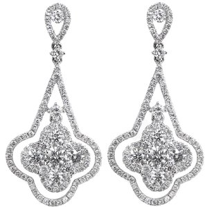 ABC Jewelry Fancy Diamond Earrings