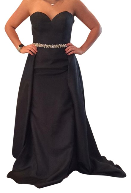 Item - Black Ew117051 Long Formal Dress Size 6 (S)