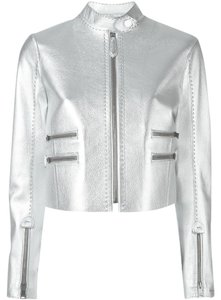 Fendi Silver / Grey Jacket