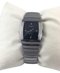 Rado Rado Sintra Grey High Tech Ceramic Jubile Diamond Swiss Quartz Watch