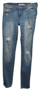 Hollister Skinny Jeans-Light Wash