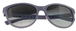 A|X Armani Exchange AX4051S-81918G Women's Violet Frame Grey Lens 55mm Sunglasses