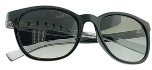 A|X Armani Exchange AX4050S-818611 Women's Black Frame Grey Lens 54mm Sunglasses