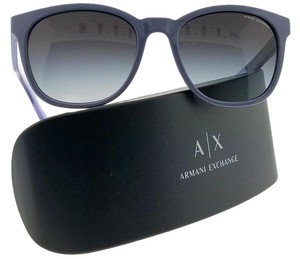 A|X Armani Exchange AX4050S-81898G Full Rim Women Mauve Frame Grey Lens 54mm Sunglasses