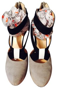 Luichiny Light Gray/Black Platforms