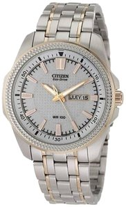 Citizen Citizen Eco-drive Two-tone Mens Watch Bm8496-51a