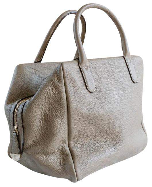 Item - Beige Leather Satchel