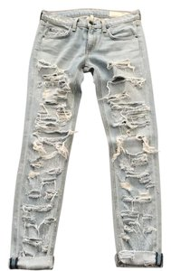Rag & Bone Boyfriend Cut Jeans-Light Wash