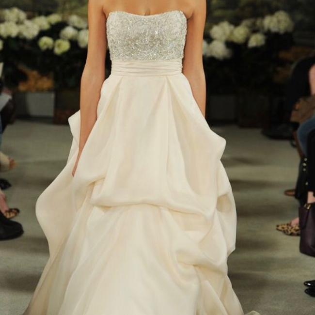Item - Ivory and Hint Of Blush Cherish Formal Wedding Dress Size 6 (S)