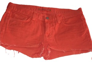 J Brand Color Cut Off Denim Shorts