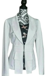 Allegra K White, cream Blazer
