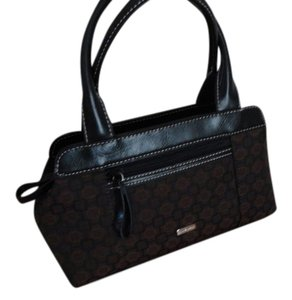 Nine West Satchel in Brown and Black