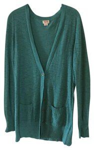 Mossimo Supply Co. V-neck Longsleeve Oversized Buttons Cardigan