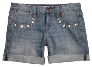 J. Crew Cuffed Shorts Medium/Light Wash
