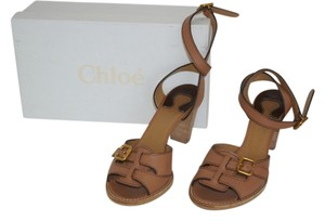 Chloe Hazelnut Brown Sandals