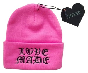 Love-Made Love-Made Hot Pink Beanie