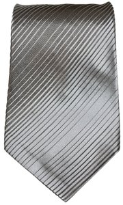 Marc Jacobs Marc Jacobs Striped Beige 100% Silk Designer Necktie Tie Made In Italy Authentic