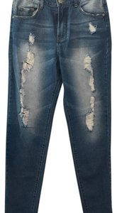 Glamorous Boyfriend Cut Jeans-Distressed