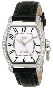 Juicy Couture Juicy Couture Women's Dalton Analog Display Quartz Black Watch