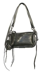 Ralph Lauren Collection Leather Studded Shoulder Bag