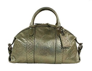 Ralph Lauren Purple Label Satchel in Metallics