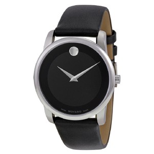 Movado Movado Museum Series Quartz Black Dial Authentic Men's Watch