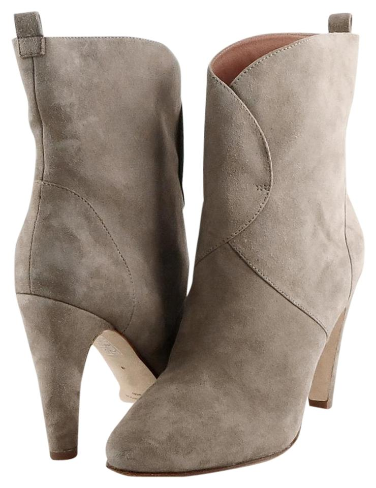 Sigerson Morrison Boots/Booties Taupe Vintage Suede Ankle Boots/Booties Morrison 504e76