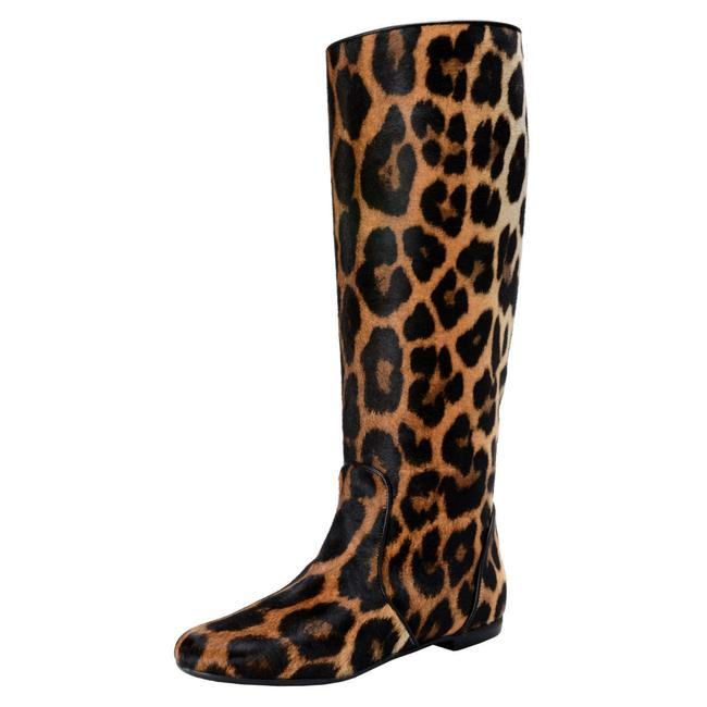 Item - Multi-color Design Women's Pony Hair Leather Boots/Booties Size US 11 Regular (M, B)