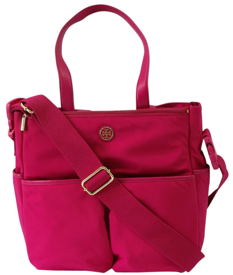 Tory Burch Handbag Pink Diaper Bag