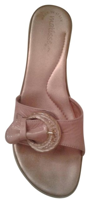 Matisse Dusty Pink Italian Sandals Size EU 38 (Approx. US 8) Regular (M, B) Matisse Dusty Pink Italian Sandals Size EU 38 (Approx. US 8) Regular (M, B) Image 1