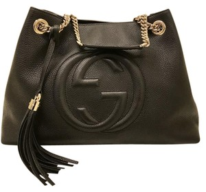 Gucci Soho Soho Soho Chain Tote in Black