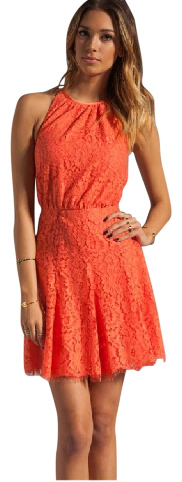 Juicy Couture Clementine Scallop Lace In Sweet *defect* Short Formal ...