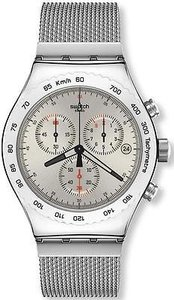 Swatch Swatch Silverish Mens Watch Yvs405g