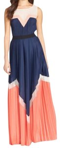 color block Maxi Dress by BCBGMAXAZRIA