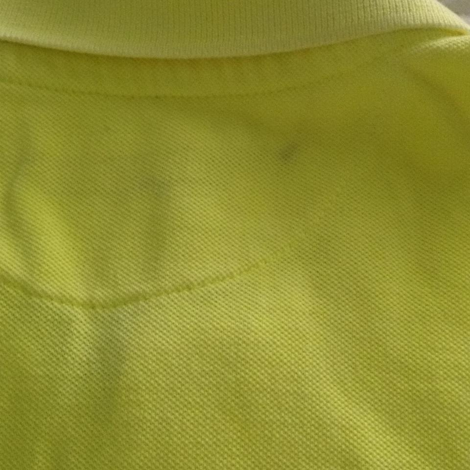 2a90b642 American Eagle Outfitters Yellow Athletic Fit Polo Shirt Button-down ...