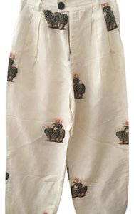 Creatures of Comfort Wide Leg Pants cream