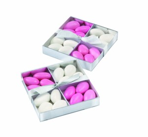 Party Favors Wilton Silver Candy Compartment Box Kit 20 Count
